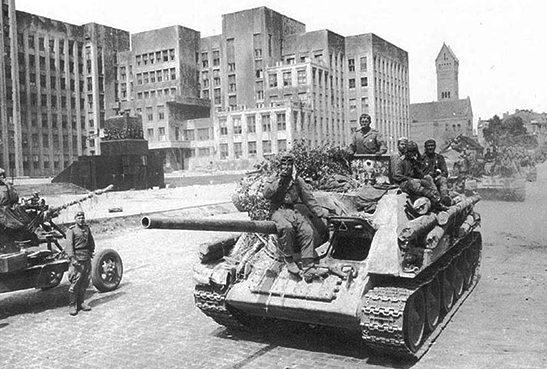 Освобожденный Минск.