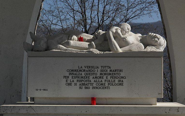 Мемориальная скульптура резни.