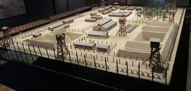 Модель лагеря смерти.