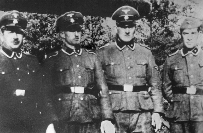 Охранники концлагеря Треблинка.