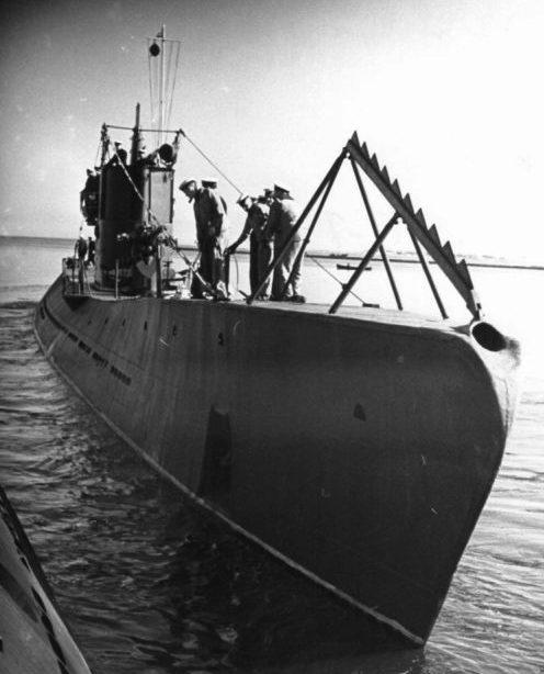 Подводная лодка С-1. Август 1940 г.