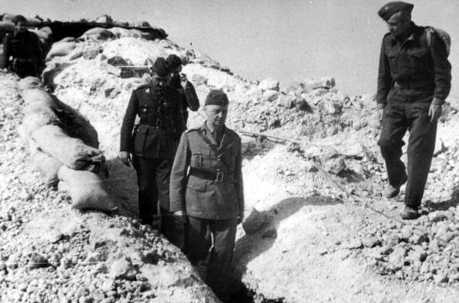 Генерал Сикорский на Ближнем Востоке.