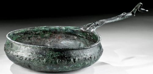 Бронзовая миска-чашка-сковородка римского легионера.