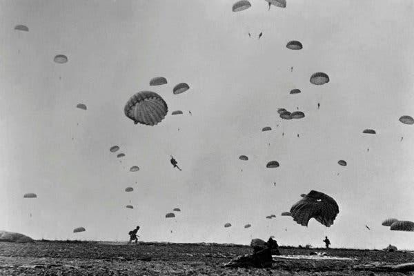Выброска десанта в Нормандии.