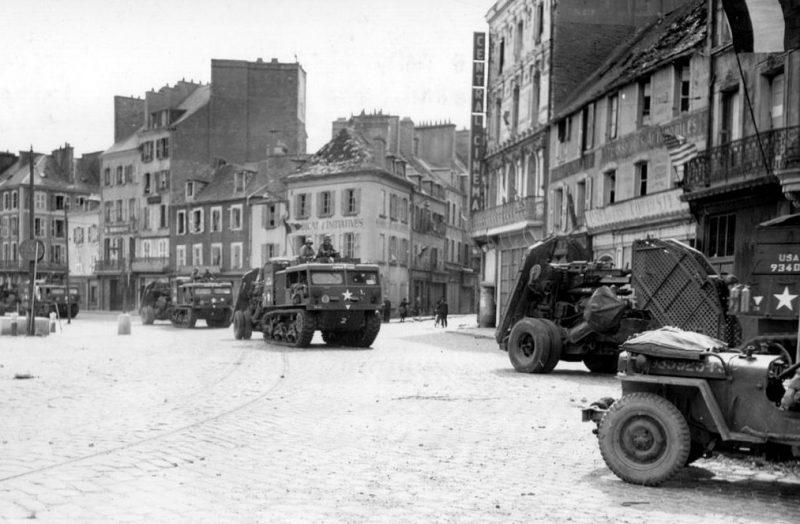 Американские войска в городе.