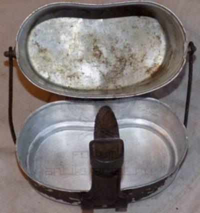 Армейский алюминиевый котелок образца 1936 г.