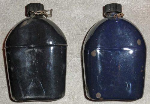 Эмалированные фляги образца 1942 года.