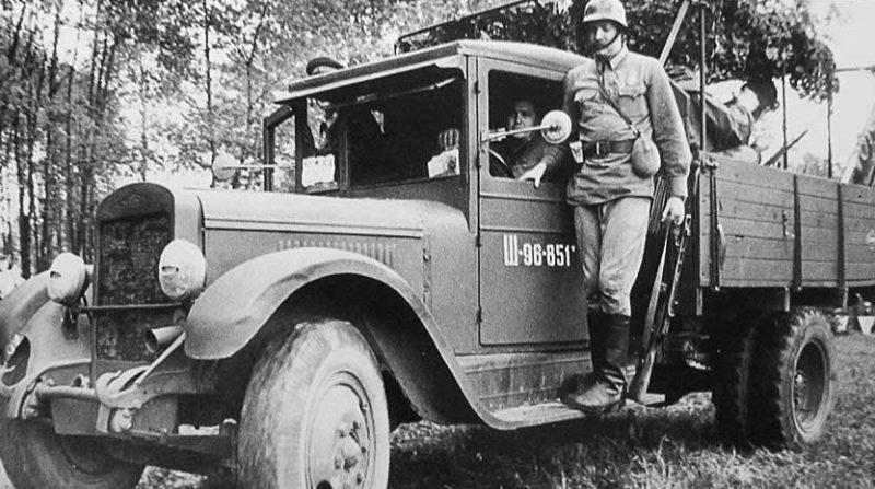 Полноприводный ЗиС-32. 1940 г.