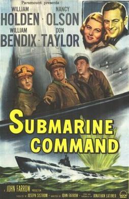 Постер фильма «Командир подлодки».