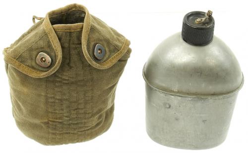 Фляга образца 1942 года в чехле парашютистов.