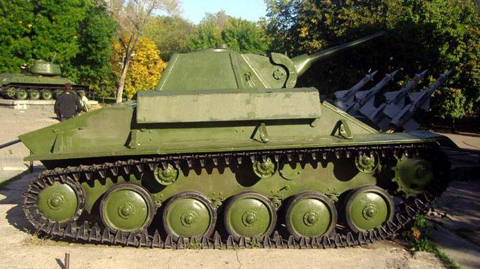 Танк Т-70.
