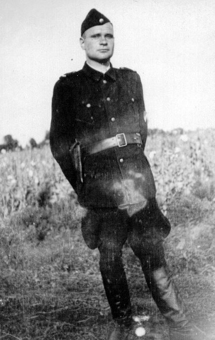 Вахман из охраны Треблинки.