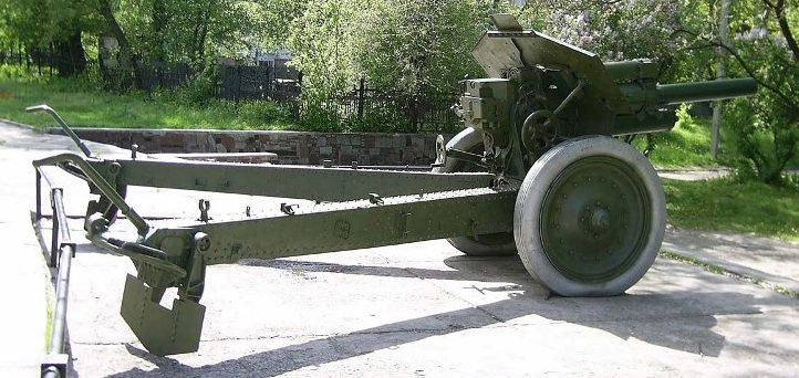Гаубица 122-мм М-30.