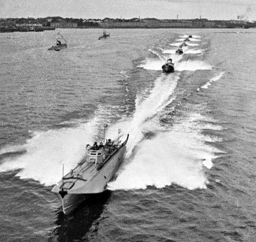 Торпедные катера. 1940 г.