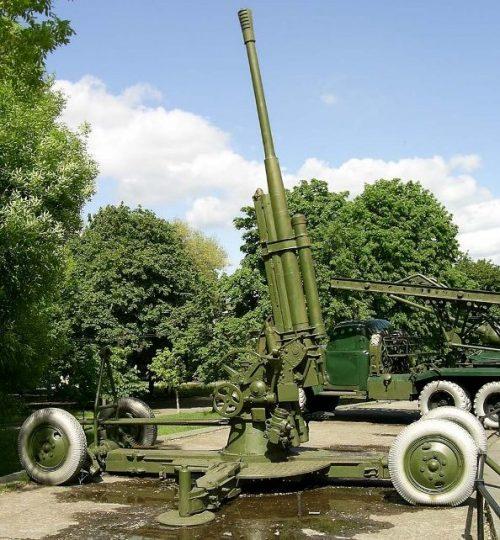 Зенитное орудие 52-К.