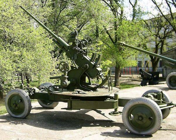 Зенитное орудие 61-К.
