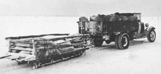 ГАЗ-ММ под Ленинградом. 1941 г.