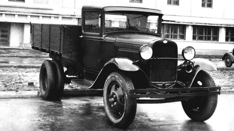 Грузовик ГАЗ-АА. 1941 г.
