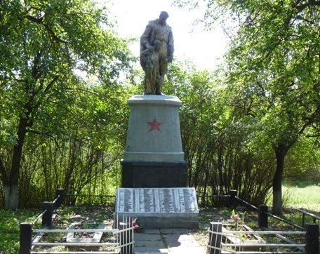 с. Николаевка Верхнеднепровского р-на. Братская могила воинов, погибших в боях за село.