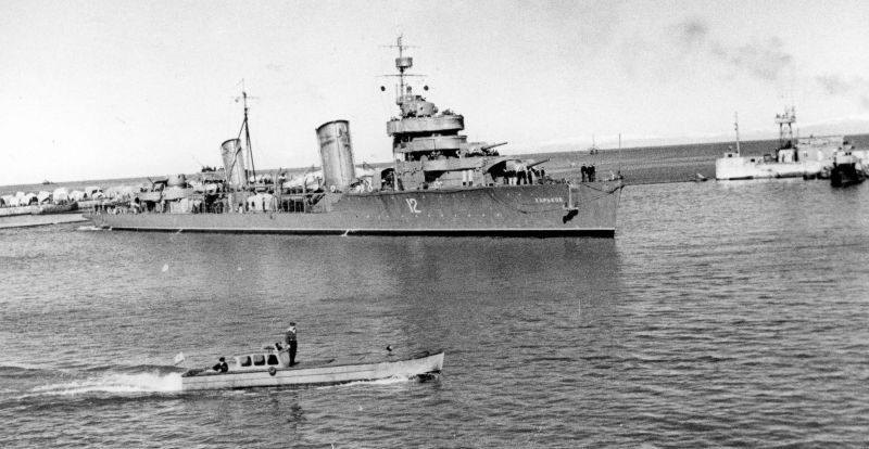Эсминец «Харьков». 1943 г.