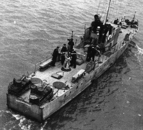 Сторожевой катер «Морская душа» типа МО-4. 1943 г.