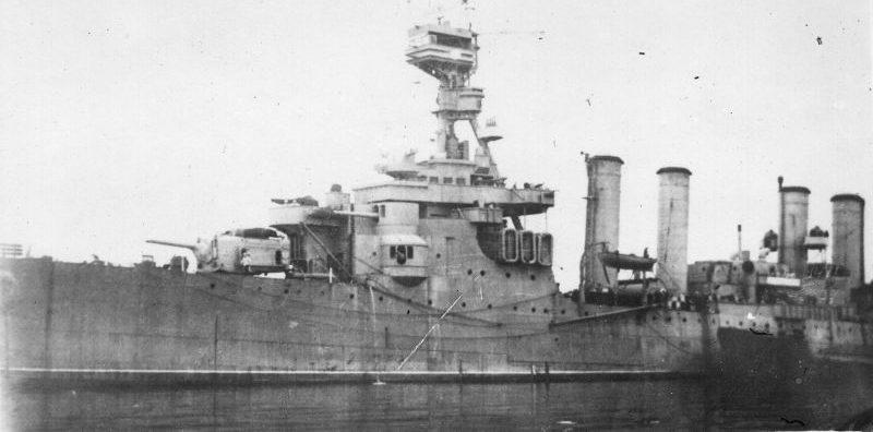 Крейсер Северного флота «Мурманск». Апрель 1944 г.