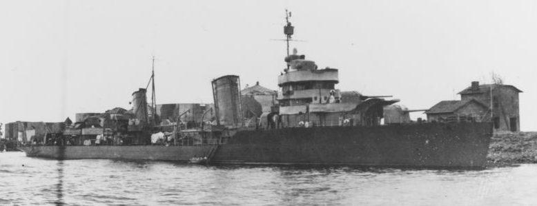Лидер эсминцев Балтийского флота «Ленинград Июнь 1944 г.