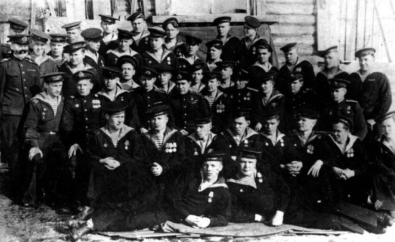 181-й особый разведывательный отряд Северного флота после взятия мыса Крестового. Осень 1944 г.
