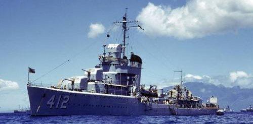 Маневры флота у побережья Гавайев. 1940 г.