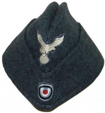 Пилотка рядового состава Люфтваффе образца 1935 года с обшивкой.