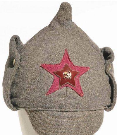 Буденовка офицера пехоты РККА,1940 год.