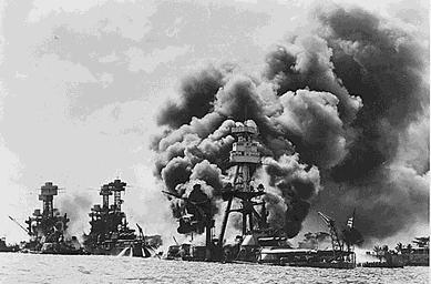 Перл-Харбор под атакой. 7 декабря 1941 г.