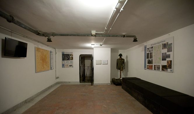 Интерьер отдельных помещений бункера.