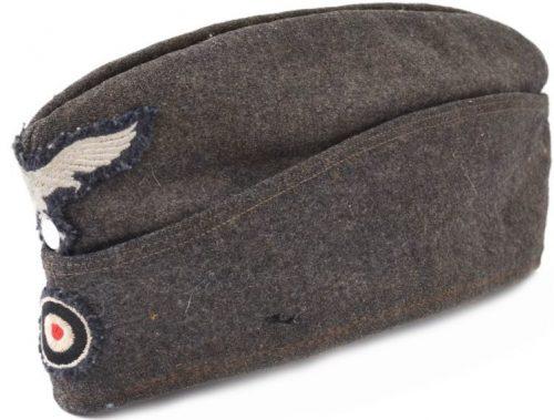 Пилотка рядового состава Люфтваффе образца 1938 года с обшивкой.