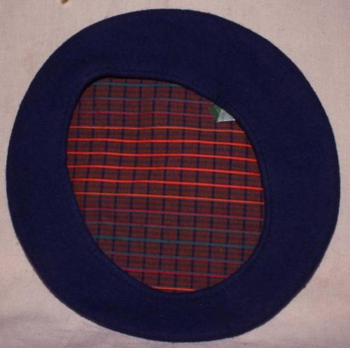 Фетровый берет для женщин-военнослужащих образца 1936 года.