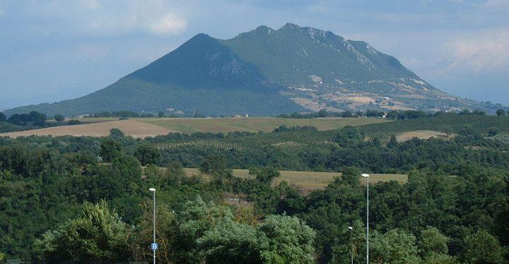 Вид на гору Соратте сегодня.