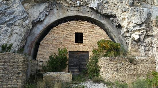 Входы в бункер.
