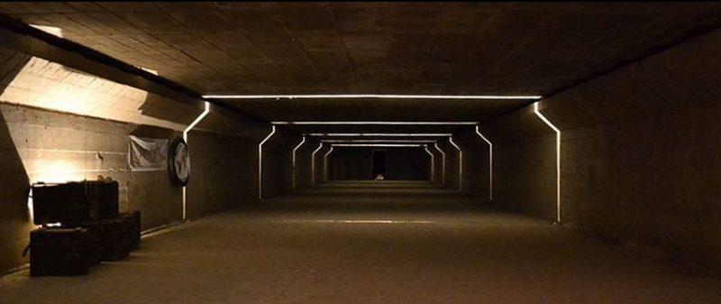 Тоннели бункера сегодня.