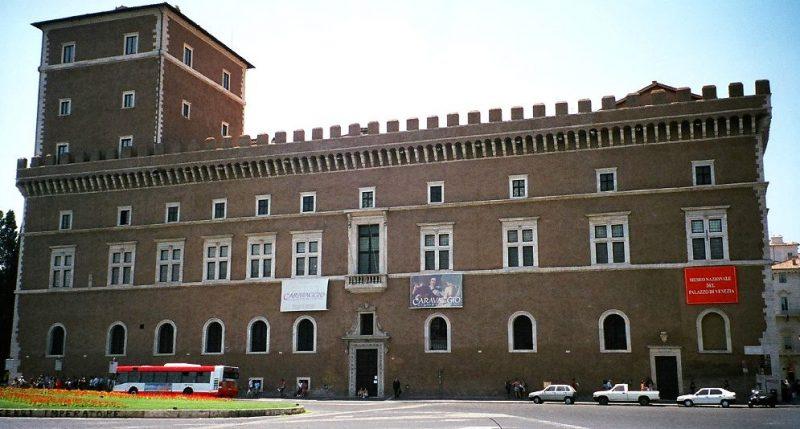 Палаццо Венеция в Риме.