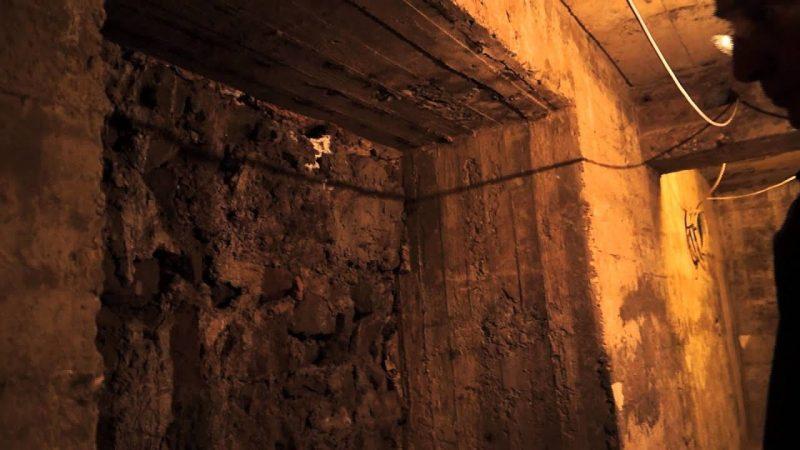 Тоннели и помещения бункера.