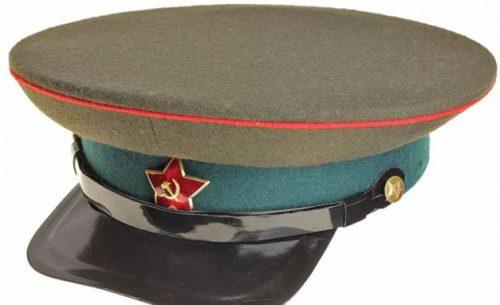 Фуражка комначсостава военно-хозяйственной, административной, военно-медицинской и военно-ветеринарной служб образца 1935 г.