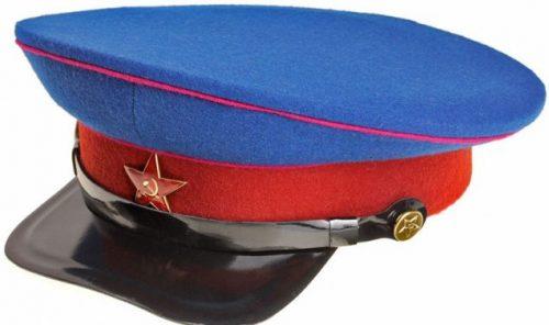 Фуражка рядового и младшего командного состава НКВД образца 1935 года.