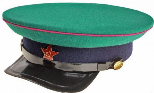 Фуражка командного и начальствующего состава пограничных войск НКВД образца 1935 года.