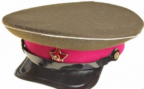 Фуражка для преподавательского состава и слушателей Академии Генерального Штаба РККА образца 1936 года.