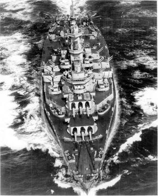 Линкор «Alabama». 1942 г.
