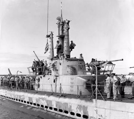 Подлодка «Billfish». 1942 г.