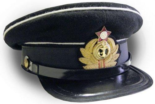 Фуражка младшего ком- и начсостава ВМФ образца 1925 года.