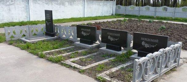 Могилы воинов.