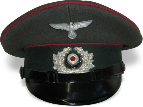 Фуражка нижних чинов военнослужащих генерального штаба Вермахта.