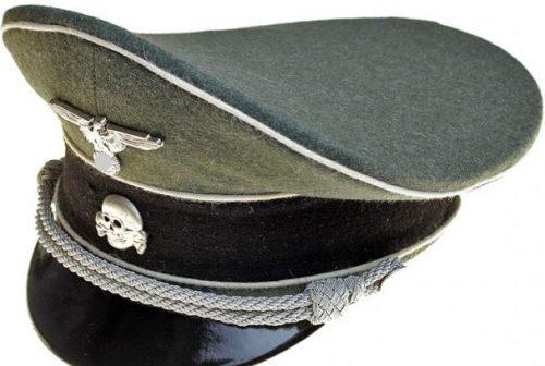 Фуражка офицера Ваффен-СС.